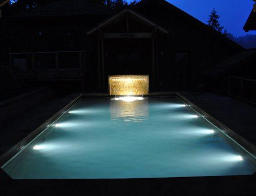 Víz alatti LED világítás